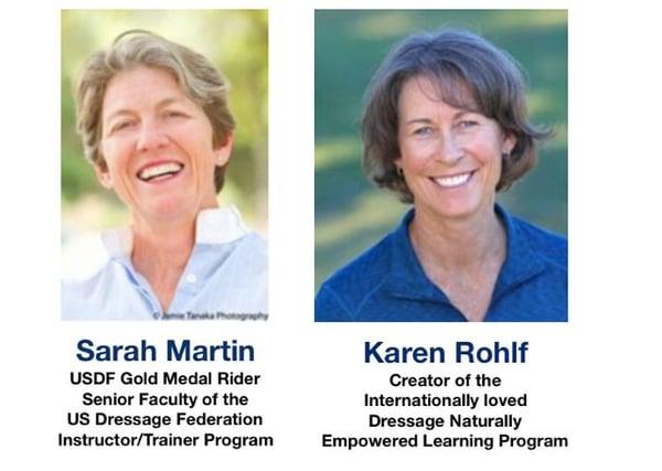 Sarah and Karen short bio