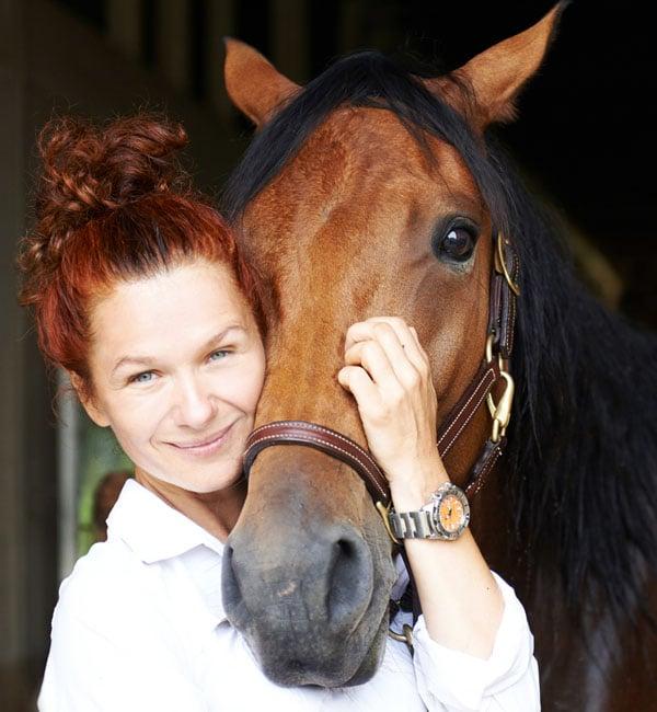 Sylvia portrait with horse