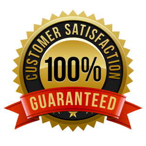 customer satisfaction guarantee badge