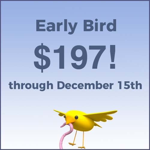 early bird pricing 3 2018