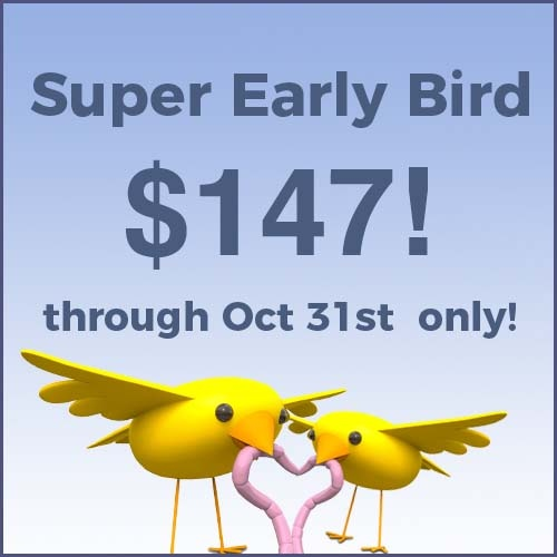 early bird pricing 5