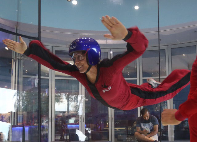 Karen Rohlf Indoor Skydiving